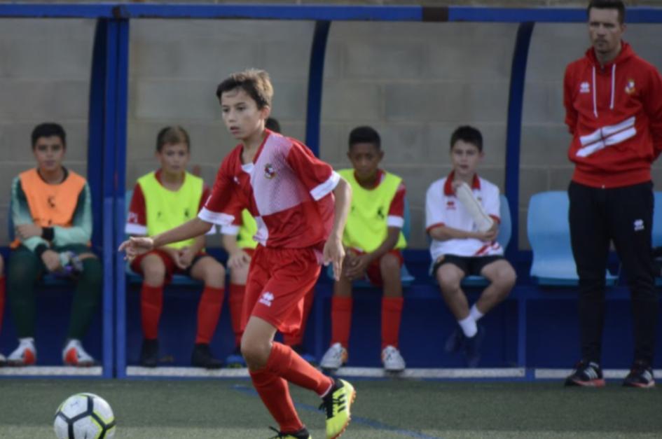 David Ventura Jugador Del Infantil B Portal Actur Pablo Iglesias